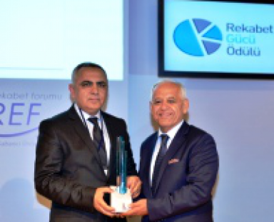 "ODE elected as ""Turkey's Most Competitive Company"""