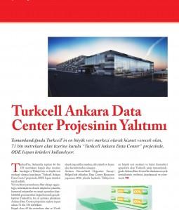Turkcell Ankara Data Center Projesinin Yalıtımı