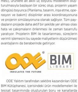 ODE, BIM Kütüphanesi'ni Oluşturdu
